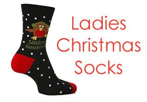 Ladies Christmas Socks at SockShop.co.uk- Christmas Novelty Socks, Christmas Slipper Socks, Christmas Toe Socks