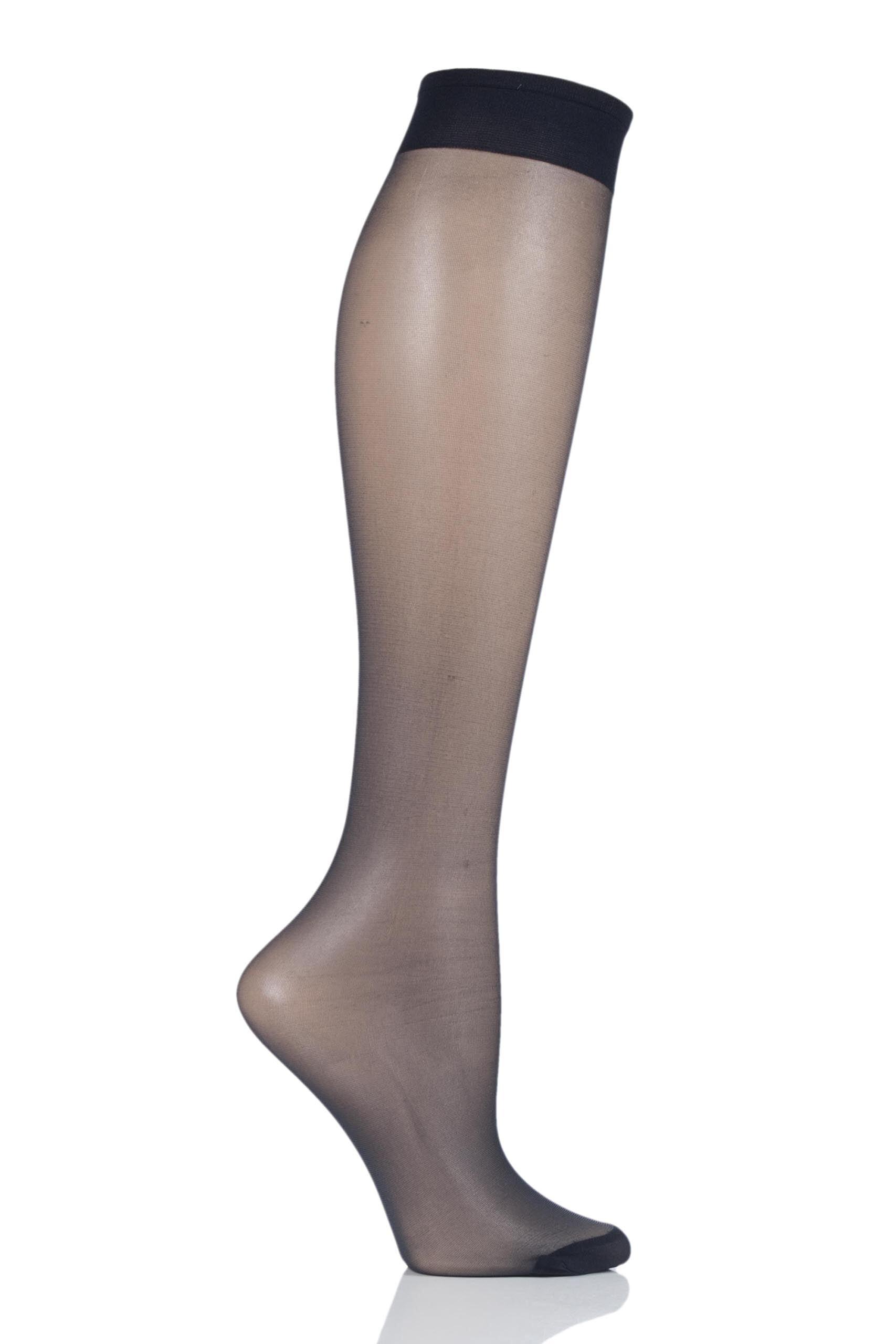 Image of 1 Pair Blumarine Class Knee High Ladies One Size - Levante
