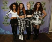 Little Mix's Jesy keeps gothic look