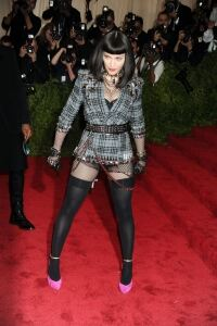 Madonna rocks New York punk vibe