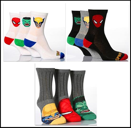 Marvel Kids socks