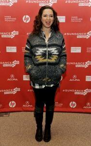 Maya Rudolph is casual in leggings