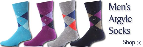 Men's Argyle Socks at SockShop
