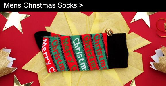 Mens Christmas Socks >