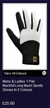 Shop MacWet Long Mesh Sports Gloves >