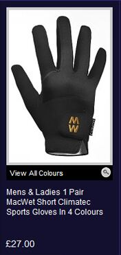 Shop MacWet Short Climatec Sports Gloves >