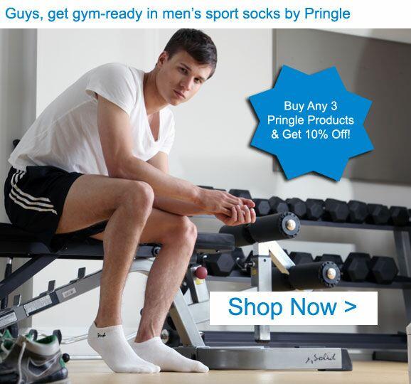 Shop Men's Pringle Sport Socks >
