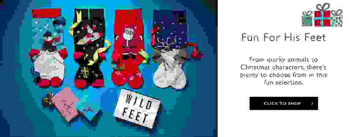 Men's SockShop Wild Feet Gift Sets >