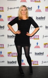 Morgana Robinson is a lady in black