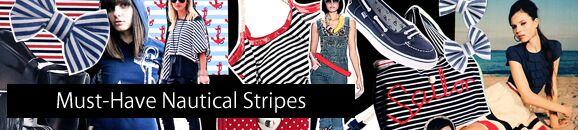 Nautical Stripes Online At SockShop