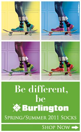 CLICK HERE - Burlington Socks at SockShop