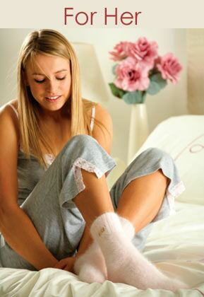 Ladies Slipper Socks at SockShop.co.uk- Elle Slipper Socks, Totes Slipper Socks, Bed Socks, Hot Sox Slipper Socks