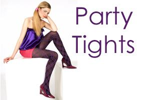 Party Tights at SockShop.co.uk- Fashion Tights, Patterned Tights, Bright Tights, Textured Tights