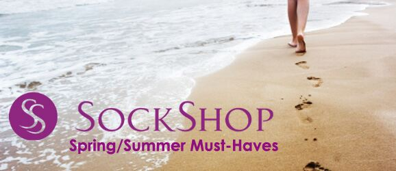 Summer Must-Haves at SockShop.co.uk- Foot Care, Leg Care, Shoeliners, Trainer Liners, Insoles