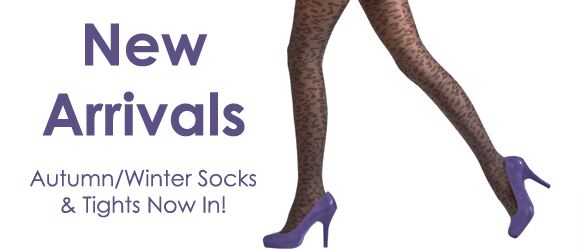 New Arrivals at SockShop.co.uk - Ladies Autumn/Winter Socks - Mens Autumn/Winter Socks - Ladies Autumn/Winter Hosiery