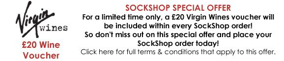 Virgin Wines Offer at SockShop.co.uk- For a Limited Time Only - Please Click Here for Full Terms & Conditions that Apply to this Offer