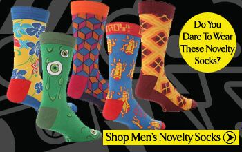 Click Here To View Men's Novelty Socks at SockShop