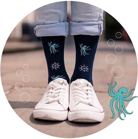 Just For Fun - Octopus Socks