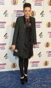 Olivia Colman looks glam at awards