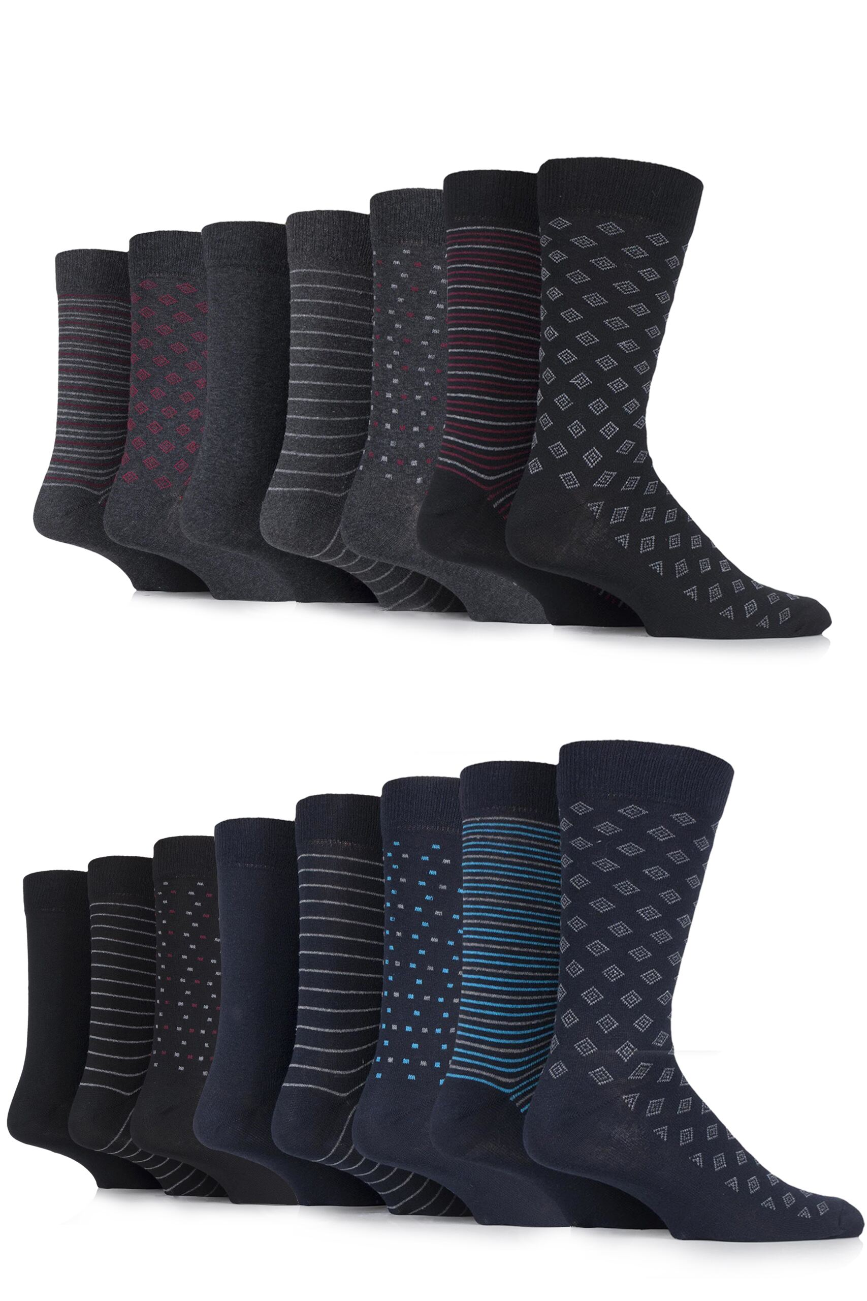 Mens patterned socks