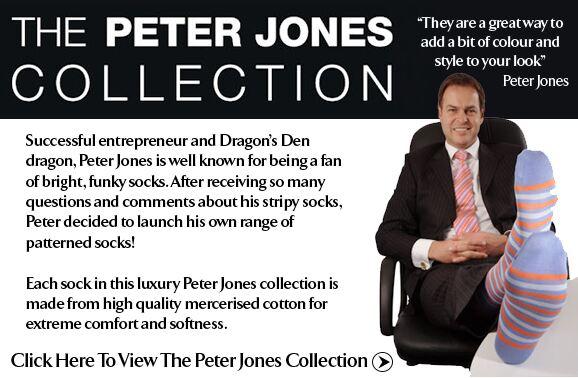 The Peter Jones Collection at SockShop