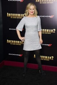 Poehler in tights for Anchorman