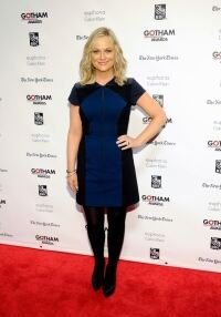 Poehler picks out black tights