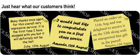 What our customers think at SockShop.co.uk- 17th August 2009