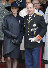 Princess in tights for Monaco Day