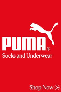 Just Arrived... Puma Socks & Puma Underwear
