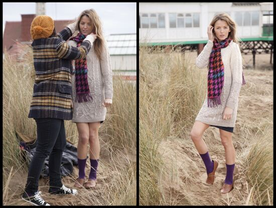 ELLE Autumn/Winter 14 photo shoot - behind the scenes
