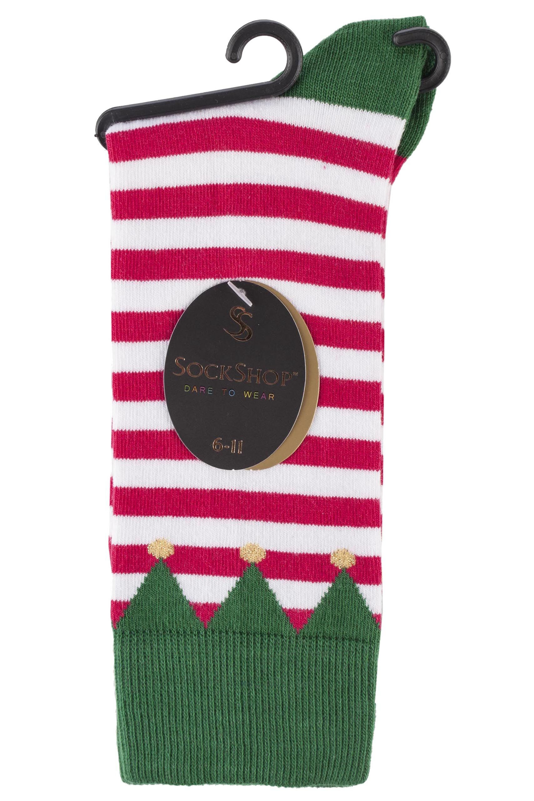 mens sockshop christmas dare to wear santa u0027s elf socks
