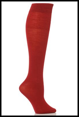 Shop Ladies 1 Pair Trasparenze Jennifer Merino Wool Knee High Socks In 8 Colours >