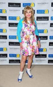 Sally's in full colour for society bash
