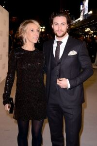 Sam shines at 50 Shades premiere