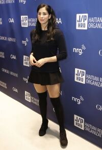 Sarah Silverman shines in kneesocks