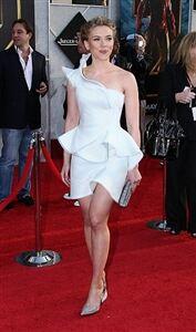 Johansson likes her leggings