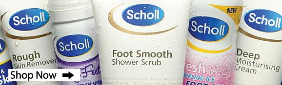 Scholl Footcare at SockShop.co.uk