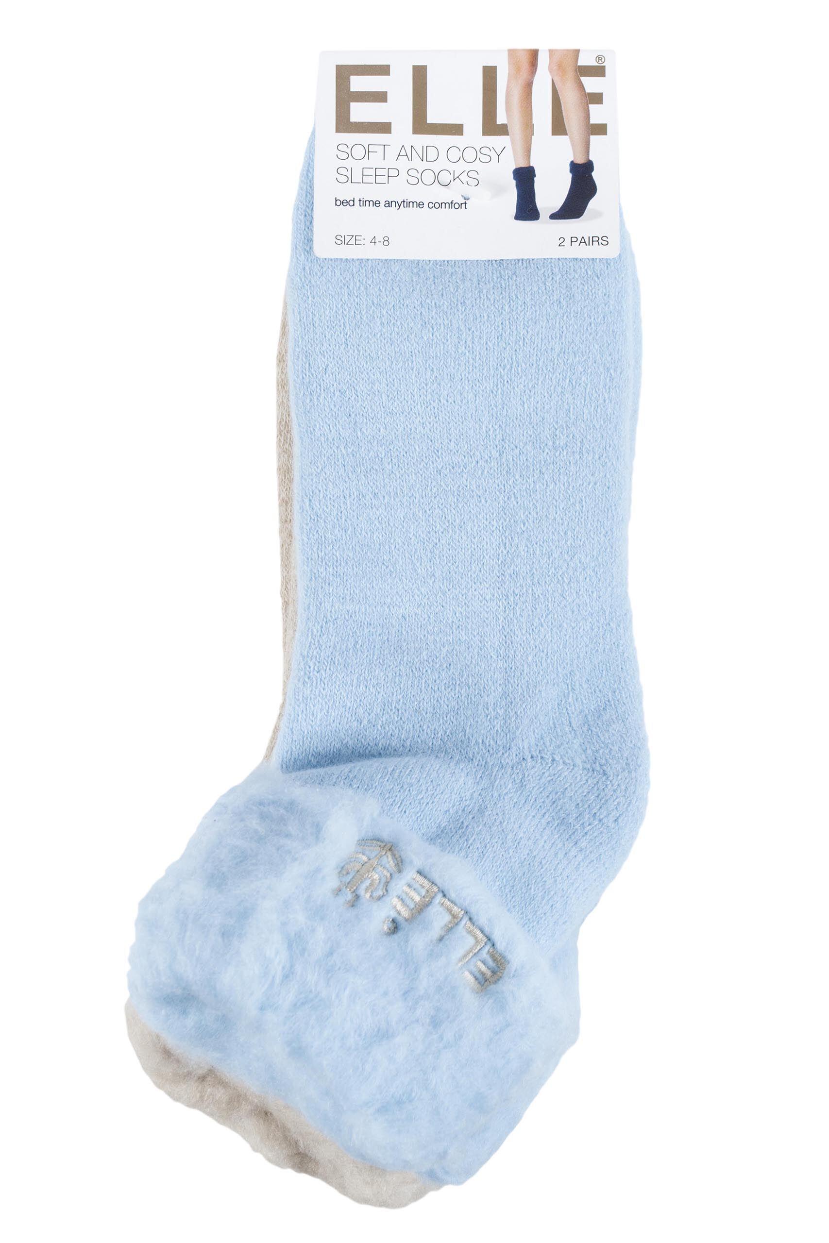 La s Elle Original Cosy Bed Socks from SockShop