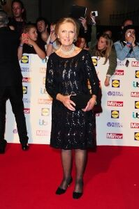 Sheer tights for Mary Berry