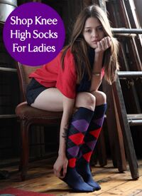 Shop Knee High Socks For Ladies at SockShop