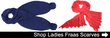 Ladies Fraas Scarves at SockShop