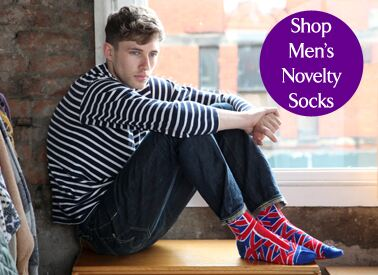 Shop Men's Novelty Socks at SockShop