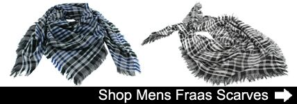 Mens Fraas Scarves at SockShop