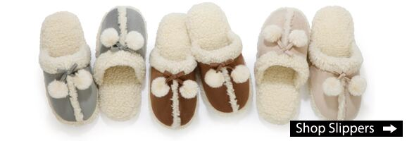 Shop Ladies Slippers at SockShop