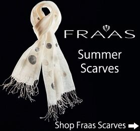 CLICK HERE - Fraas Summer Scarves at SockShop