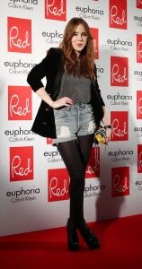 Shorts & tights for Angela Scanlon