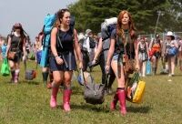 Socks: This summer's festival fad?