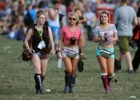 Socks and wellies galore at V-Fest