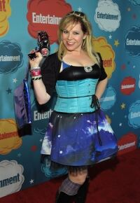 Socks for Vangsness at Comic-Con